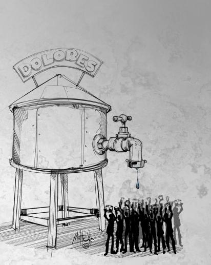 2016 08 03 Amparo colectivo acceso agua potable en Dolores